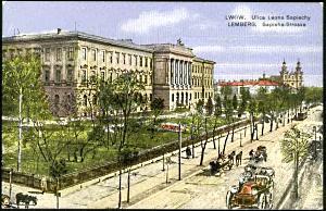 Улица Л.Сапеги, Политехника (раскраска)